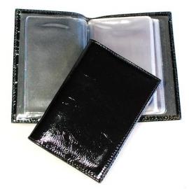 Футляр для магнитных карт и визиток кожаный