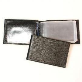 Футляр для магн. карт и визитниц кожаный горизонтальный