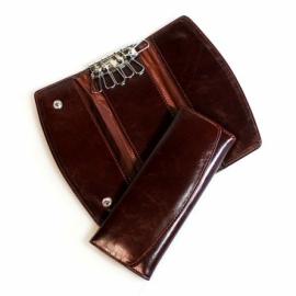 Футляр для личных визиток кожаный
